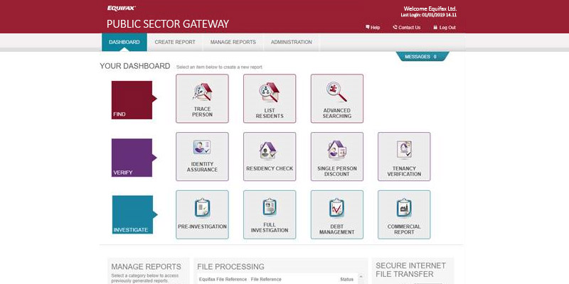 Public Sector Gateway with Indesser